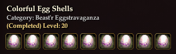Colorful Egg Shells