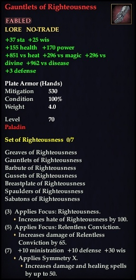 Gauntlets of Righteousness (Version 1)