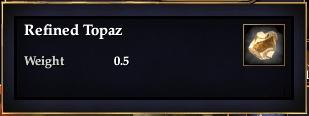 Refined Topaz
