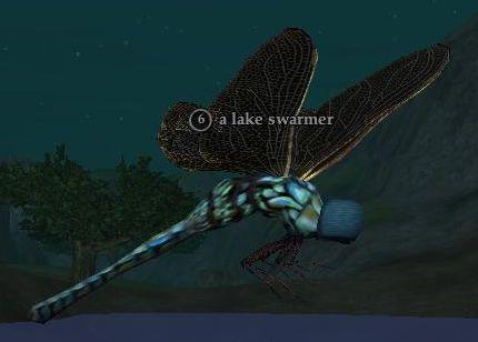 A lake swarmer