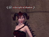 A disciple of shadow