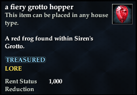 A fiery grotto hopper