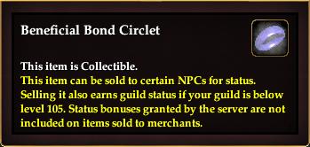 Beneficial Bond Circlet