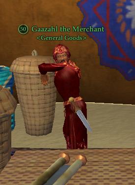 Gaazahl the Merchant