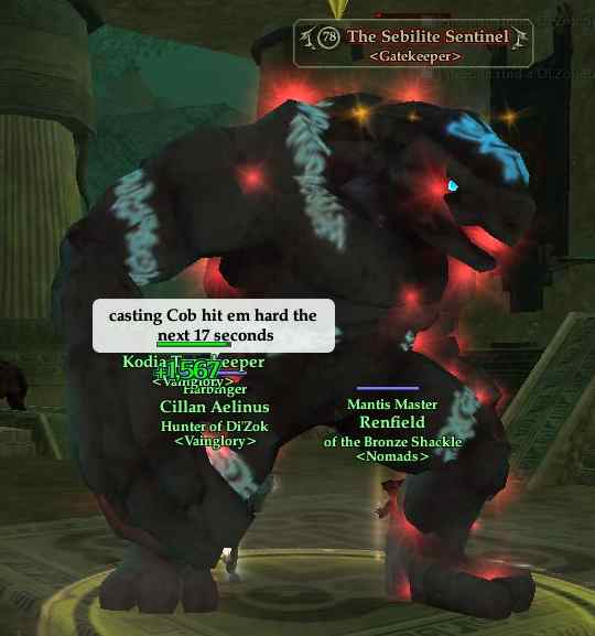 The Sebilite Sentinel