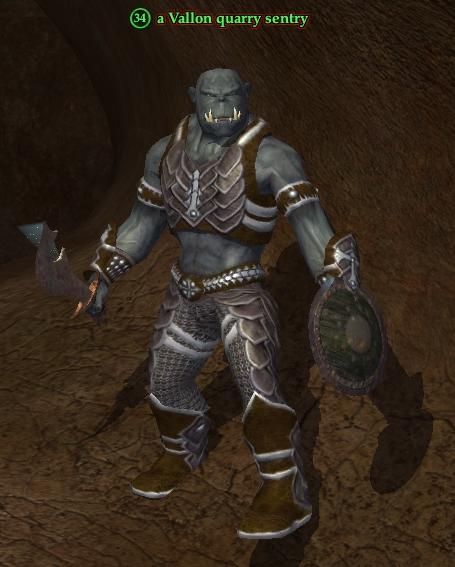 A Vallon quarry sentry