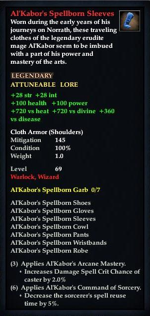 Al'Kabor's Spellborn Sleeves (Version 1)