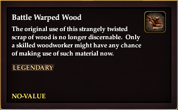 Battle Warped Wood