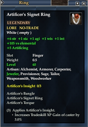 Artificer's Signet Ring