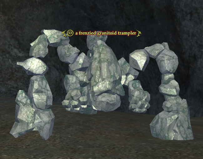 A frenzied granitoid trampler