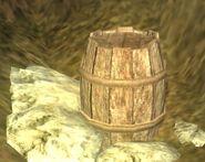 Barrel of explosives