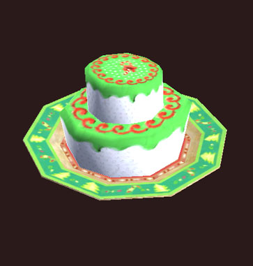Tiered Frostfell Cake