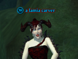 A lamia carver