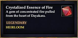Crystallized Essence of Fire