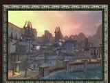 Sunset Over Port Living