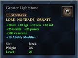 Greater Lightstone (HQ Reward)