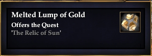Melted Lump of Gold