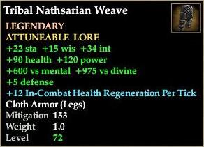 Tribal Nathsarian Weave