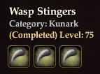 Wasp Stingers