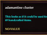 Adamantine cluster