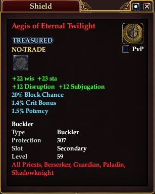 Aegis of Eternal Twilight