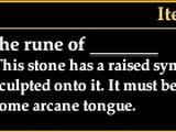The rune of duak