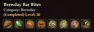 Brewday Bar Bites