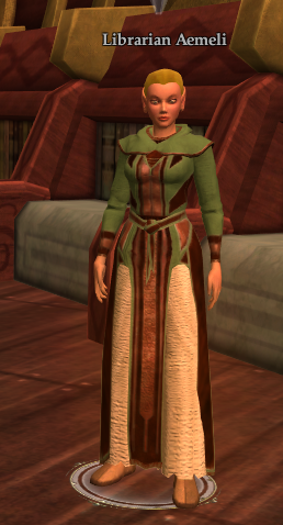 Librarian Aemeli