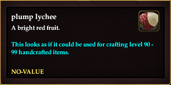 Plump lychee