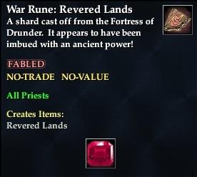 War Rune: Revered Lands