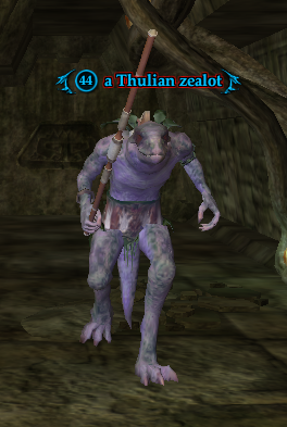 A Thulian zealot (The Temple of Cazic-Thule)