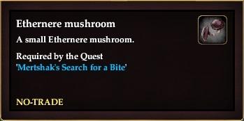 Ethernere mushroom