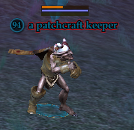 A patchcraft keeper