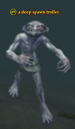 A deep spawn troller