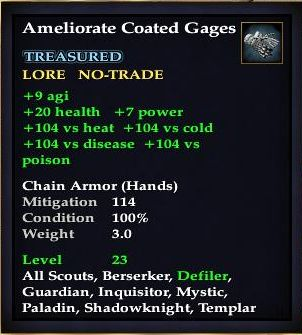 Ameliorate Coated Gages