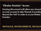Obulus Frontier Access