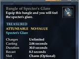 Bangle of Specter's Glare