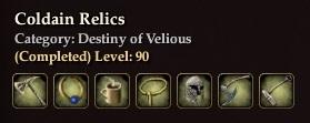 Coldain Relics