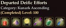 Departed Deific Efforts