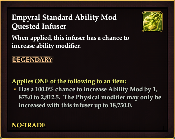 Empyral Standard Ability Mod Quested Infuser