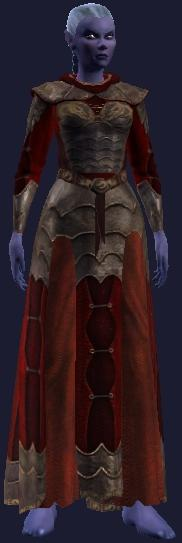 Flame Researcher's Robe