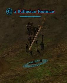 A Rallosian Footman