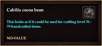 Cabilis cocoa bean