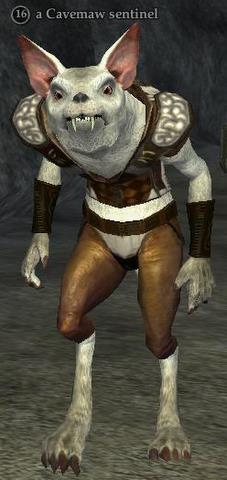 A Cavemaw sentinel