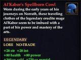Al'Kabor's Spellborn Cowl (Version 1)