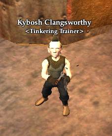 Kybosh Clangsworthy