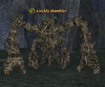 A sickly shambler
