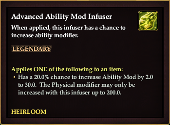 Advanced Ability Mod Infuser