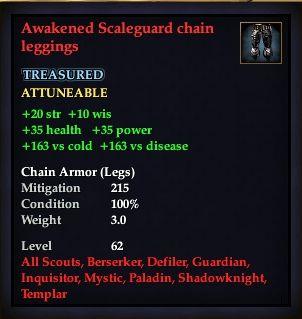 Awakened Scaleguard chain leggings