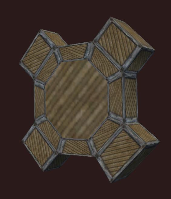 Cold Corrugated Wood Cog